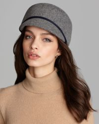 d445d9229 Bettina Wool Felt Cap - Gray