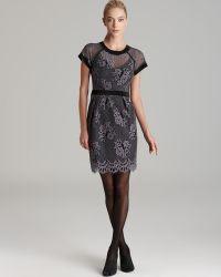 Nanette Lepore Dress Hidden Gem Lace - Lyst