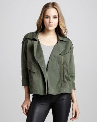 Pjk Patterson J. Kincaid Hauser Motorcycle Jacket Olive Stylist Pick - Green