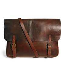 Royal Republiq - Leather Messenger Bag - Lyst