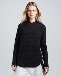 Theyskens' Theory Koppa Ribtrim Sweater - Lyst