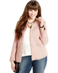 American Rag - Tweed Studded - Lyst