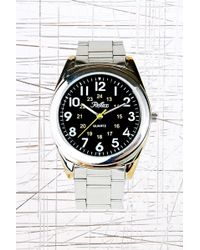 Urban Outfitters - Reflex Metal Black Face Watch - Lyst