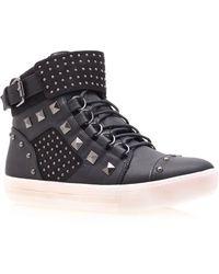Carvela Kurt Geiger Lucas Trainer Shoes black - Lyst