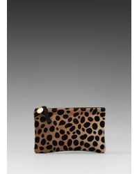 Clare V. Wallet Clutch - Lyst