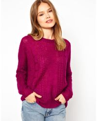 See U Soon - Cable Knit Jumper - Lyst