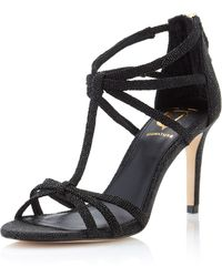 Vince Camuto Signature Niles Strappy Sandal Black 8 12