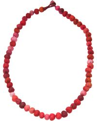 Dosa - Knotted Channa Bead Necklace - Lyst
