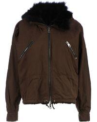 Giambattista Valli Reversible Fur Lined Coat - Lyst