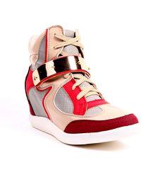 AKIRA Beacon Trainer Wedge - Red