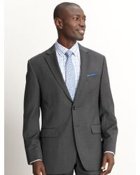 Banana Republic Classic Fit Charcoal Wool Suit Jacket Light Charcoal - Lyst