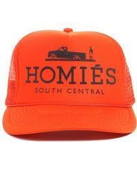 ec0c898ad28 Brian Lichtenberg - Brian Lichtenberg Homies Trucker Hat in Orange - Lyst