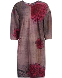 Katrien Van Hecke Short Dress - Purple