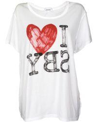 Sonia By Sonia Rykiel I Heart Sby Tee - Lyst
