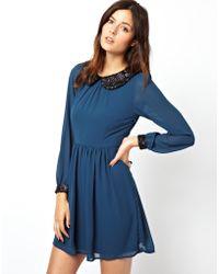 Sugarhill Fun and Frolics Dress - Blue