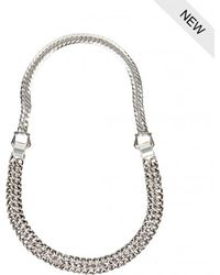 AllSaints - Purnell Necklace - Lyst