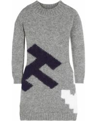 Band of Outsiders - Atari Over Sized Mohair Blend Jumper - Lyst