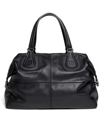 Givenchy Nightingale Leather Bag - Black