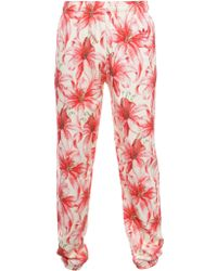 Jeremy Scott for adidas Unisex Lilly Print Track Trousers Pink
