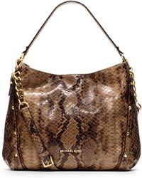 Michael Kors Michael Large Leigh Shoulder Bag - Lyst