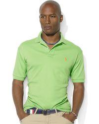 Ralph Lauren Classicfit Interlock Polo Shirt - Lyst
