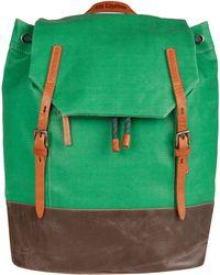 Ally Capellino - Green Dean Waxed Backpack - Lyst