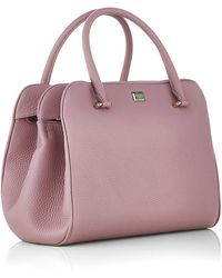 Dolce & Gabbana Miss Lily Leather Tote - Lyst
