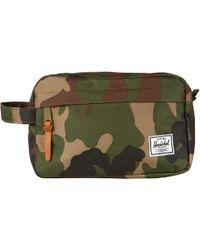 Herschel Supply Co. Khaki Token Camo Wash Bag - Natural