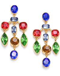 Kara Ross - Crystal Chandelier Earrings - Lyst
