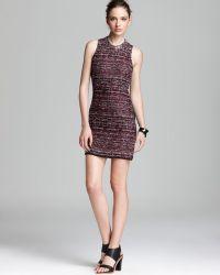 Madison Marcus Dress Engage Embellished Collar - Black