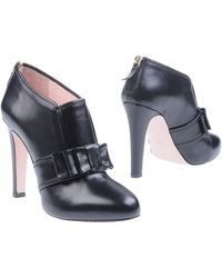 RED Valentino Ankle Boots - Lyst
