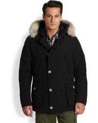 Woolrich Quilted Arctic Anorak - Lyst