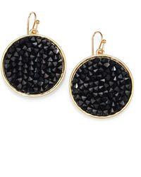 ABS By Allen Schwartz - Bead Set Drop Earrings - Lyst