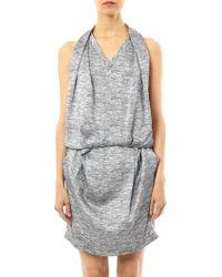 Alexander Wang Textured Melange Day Dress - Lyst