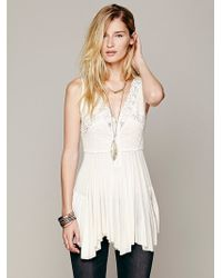 Free People Commemorative Bell Sleeve Dress - Lyst