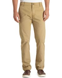 Levi's Harvest Gold Chino Pants - Lyst