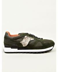 The Editor For Saucony Mens Dark Green Shadow Original Sneakers - Lyst