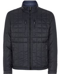 Zegna Sport - Reversible Quilted Navy Jacket - Lyst