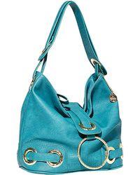Big Buddha - Jenny Faux Leather Hobo Bag - Lyst