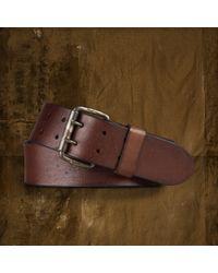 Denim & Supply Ralph Lauren - Wide Doubleprong Belt - Lyst