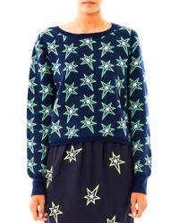 Emma Cook   Star Intarsia-Knit Sweater   Lyst