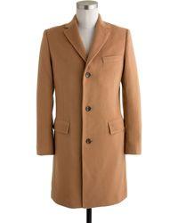 J.Crew Ludlow Topcoat In Wool-Cashmere - Lyst