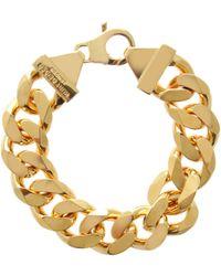Kurt Geiger - Chunky Chain Bracelet - Lyst