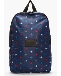 Marc By Marc Jacobs Indigo Morris Star Packables Backpack - Blue