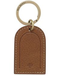 Mulberry | Leather Tag Keyring | Lyst