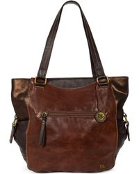 The Sak Kendra Leather Tote - Lyst