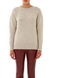 Tomas Maier Alpaca Wool Sweater - White