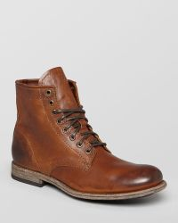 Frye Tyler Leather Boots - Brown
