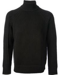 Givenchy Ribbed Knit Jumper - Black