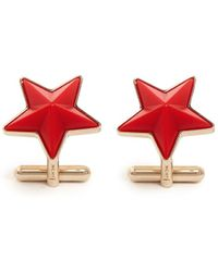 Givenchy Star Cufflinks - Lyst